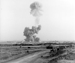 Beirut airport attacked with a truck bomb