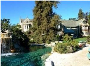 Hugh Hefner Playboy Mansion