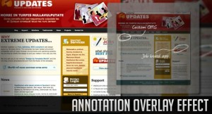 Annotation Overlay Effect