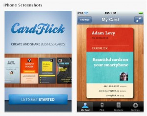 CardFlick app