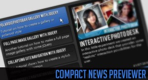 Compact News Previewer