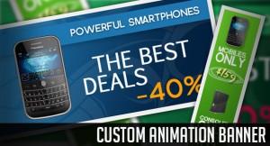 Custom Animation Banner