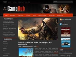 GameHub WordPress Theme
