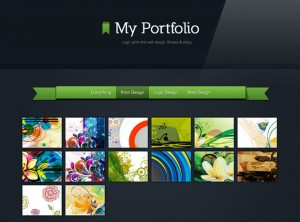 Generating Alluring HTML5 Portfolio