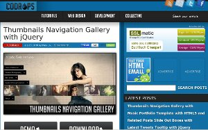 Generating Thumbnails Navigation Gallery with jQuerry