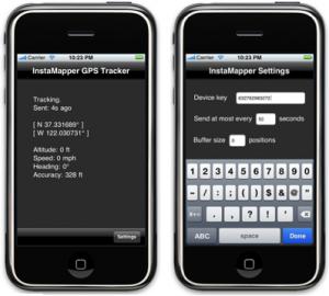 InstaMapper GPS Tracker