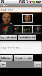Kafkara Augmented Reality app