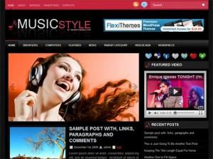 Music Style WordPress Theme