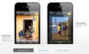 New Camera app and photos ios 5
