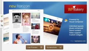 New Horizon WordPress