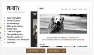 Purity WordPress