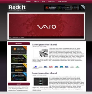 Rock It WordPress Theme