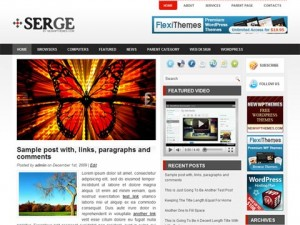 Serge WordPress Theme