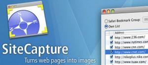 Site Capture apps