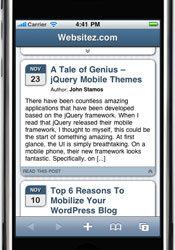 WORDPRESS Multi Site Mobile Edition