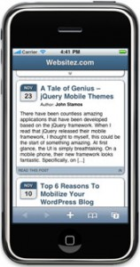 WORDPRESS Multi Site Mobile Edition
