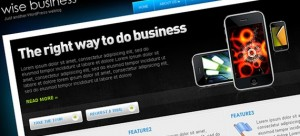Wise Business WordPress Theme