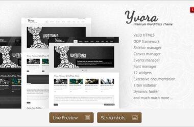 Yvora Premium WordPress Theme