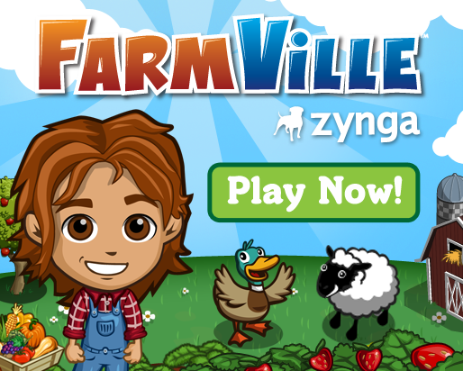 Farmville game screen shot